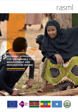 Summary Annual Report for 2018/2019: Regional Approaches for Sustainable Conflict Management and Integration (RASMI)