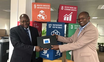 UNDP RSCA Director hands over equipment to support IGAD Cluster Coordination offices