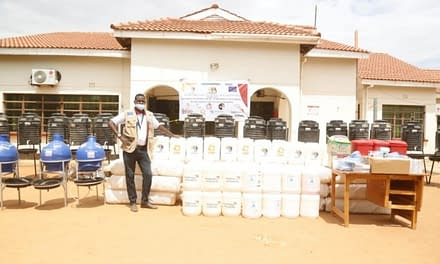BORESHA Donates COVID-19 Response Materials to Mandera County