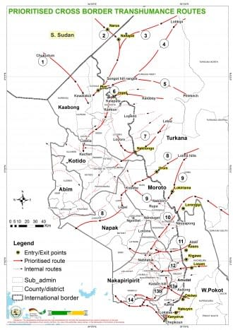 Maps: Resilience Enhancing Investments for Agropastoral & Pastoral Communities