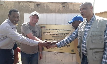 First field office bordering Ethiopia and Kenya to improve the regional cross-border cooperation