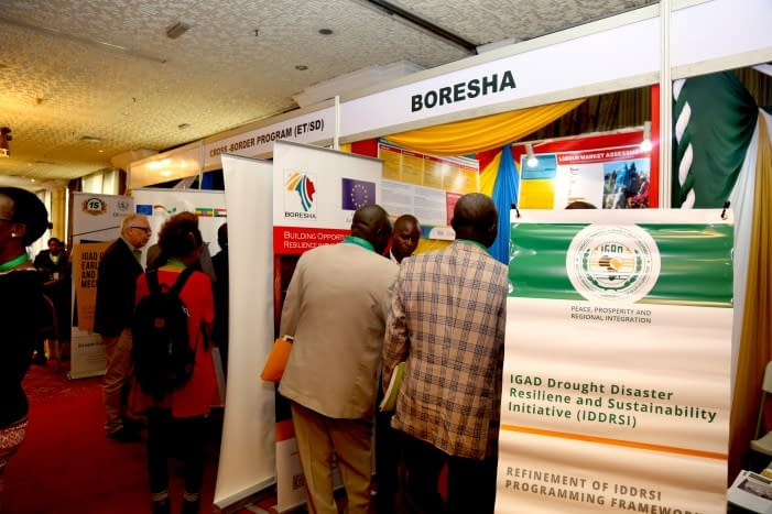 IGAD facilitates knowledge sharing for better resilience building to drought disasters