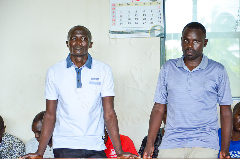 Police constables charged with pupil's murder.