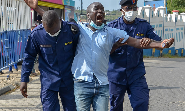 [VIDEO] Why MUHURI protests secret M-Pesa deal by KFS, Safaricom