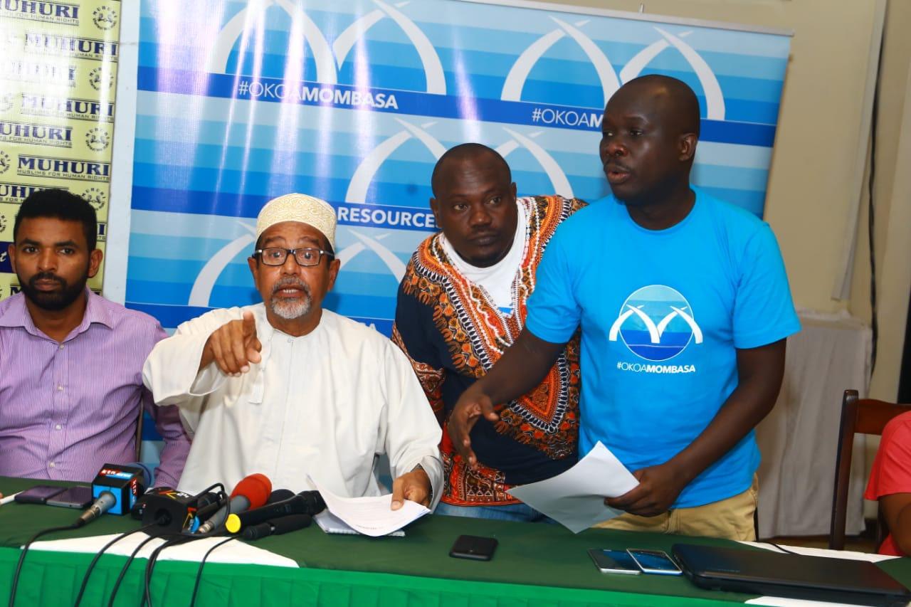 Okoa Mombasa Coalition members.
