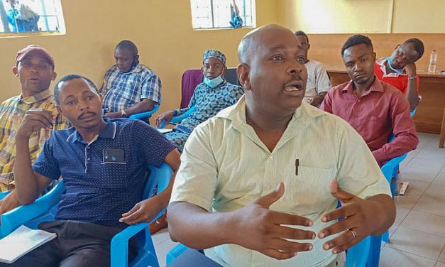 MUHURI puts men on frontline in battle against SGBV