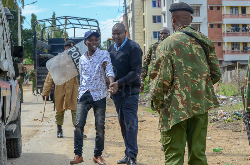 Police shoot three squatters over disputed Mtwapa parcel